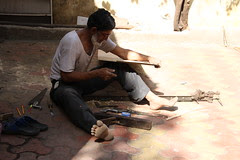 He is a Muslim Carpenter of the Old Time Charm by firoze shakir photographerno1