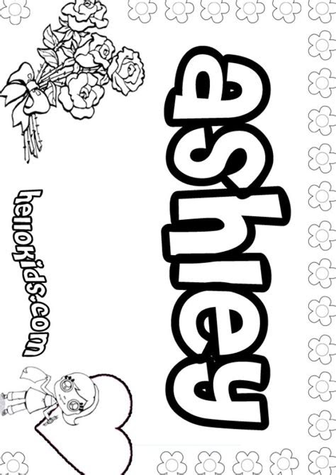 Coloring Pages Names Printable Creative Art