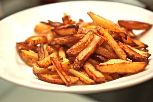 olive oil French fries, yes, oven-baked
