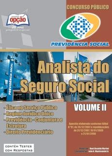 INSS- Analista do Seguro Social-ANALISTA DO SEGURO SOCIAL - VOLUME II