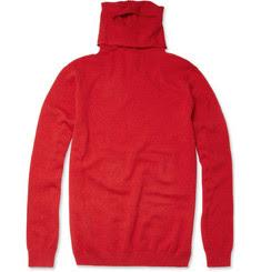 Folk Peepin Roll Neck Sweater