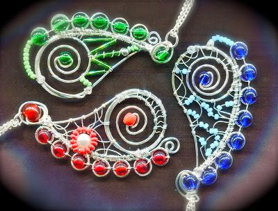 Wire Paisley Jewelry Tutorial - The Beading Gem's Journal