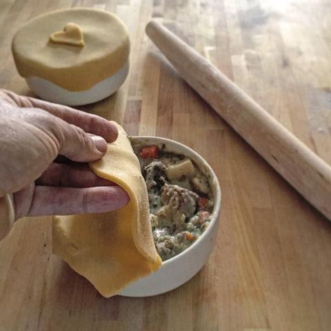 Gluten-Free Steak Mushroom Pot Pie | GeeFree Gluten Free ...