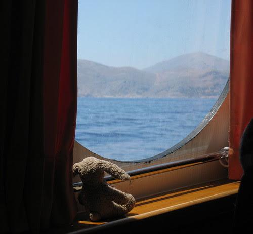 Approaching Kalymnos