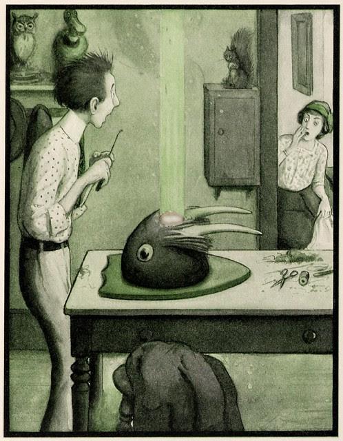Illustrated children's book : The Rocket Book 1912 v