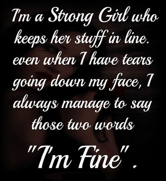I Am A Strong Girl Quote Pictures Photos And Images For Facebook