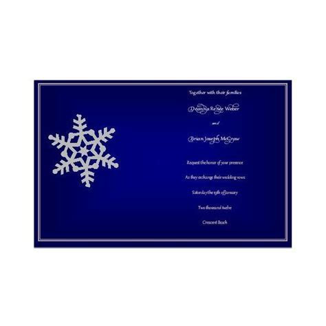 Free Winter Wedding Invitations for Publisher: Design Tips