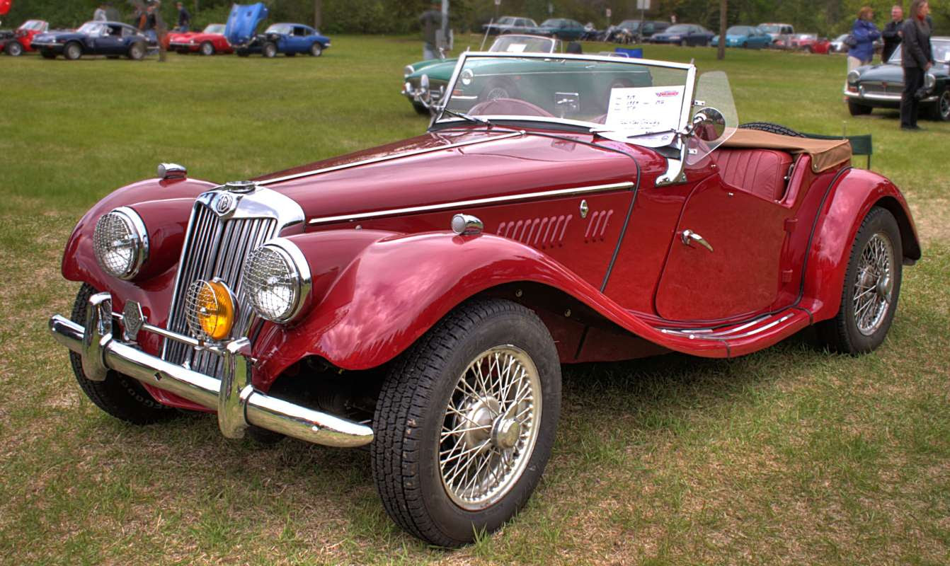 MG 1954 Sports Car Background Image, Wallpaper or Texture ...