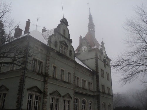 My favorite! A creepy castle. What has happened behind its dreary walls? What lives have been lived and lost? What secrets have been hidden? I can go on, but you have your imagination to continue the story. The castle lives on.