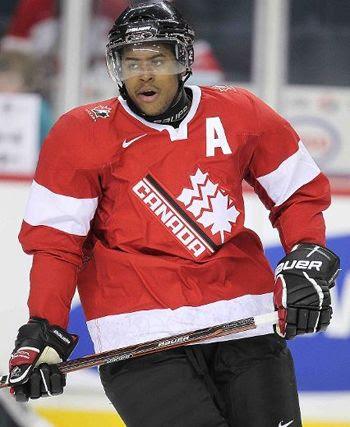 Devante Smith-Pelly 2012 Canada Alt jersey, Devante Smith-Pelly 2012 Canada Alt jersey