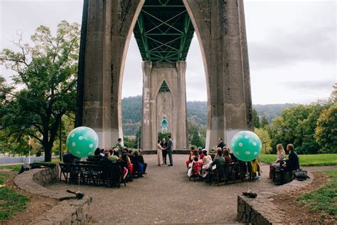 A Cathedral Park Wedding in Portland, Oregon // Heather