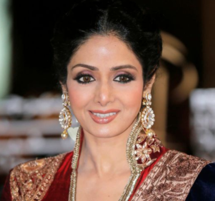 Bollywood star Sridevi didn