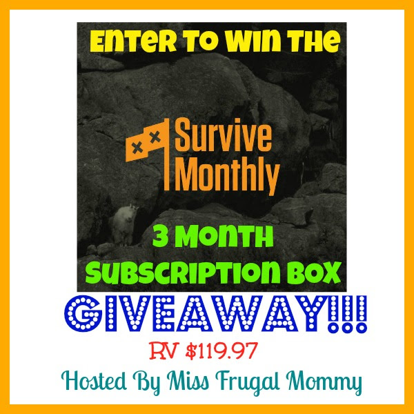 Survive Monthly Giveaway