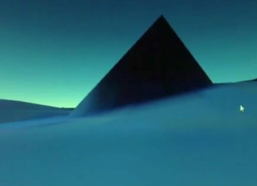 ¿Pirámide sumergida?