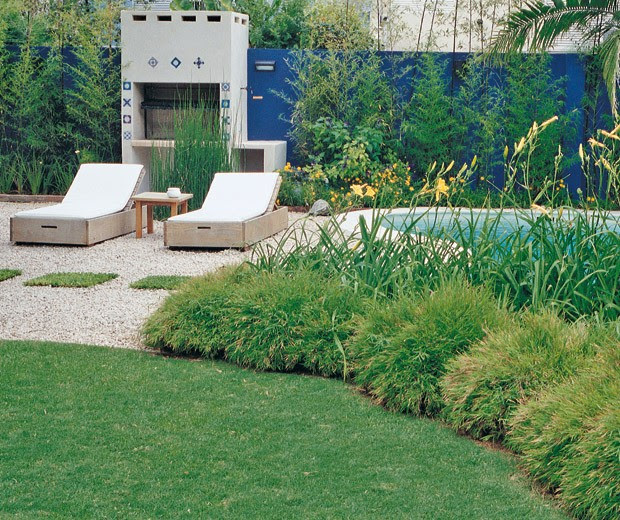 Arquitectura paisajista un jard n rebosante tecno haus - Jardines y paisajismo ...