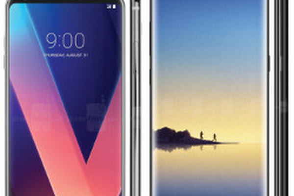 31d000056cd Galaxy Note 8 or LG V30  which one has your eye (and potentially your  money )