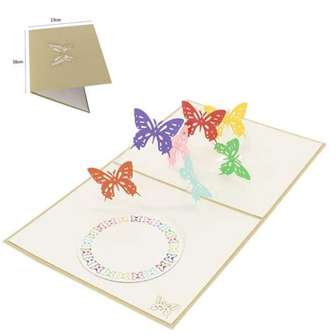 3D Pop Up Greeting Cards Birthday Valentine Easter