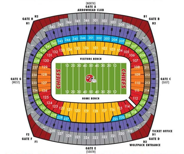 Everbank Field Seating Chart With Seat Numbers