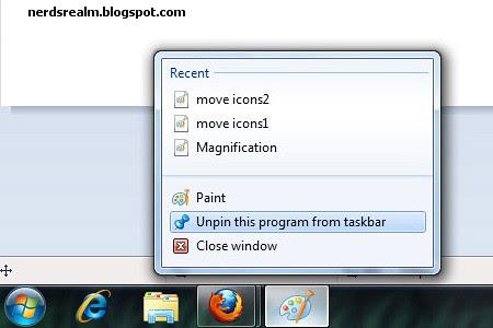 windows 7 pin to taskbar