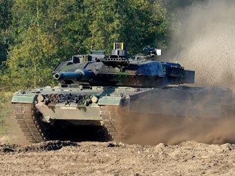 Леопард 2. Фото Reuters