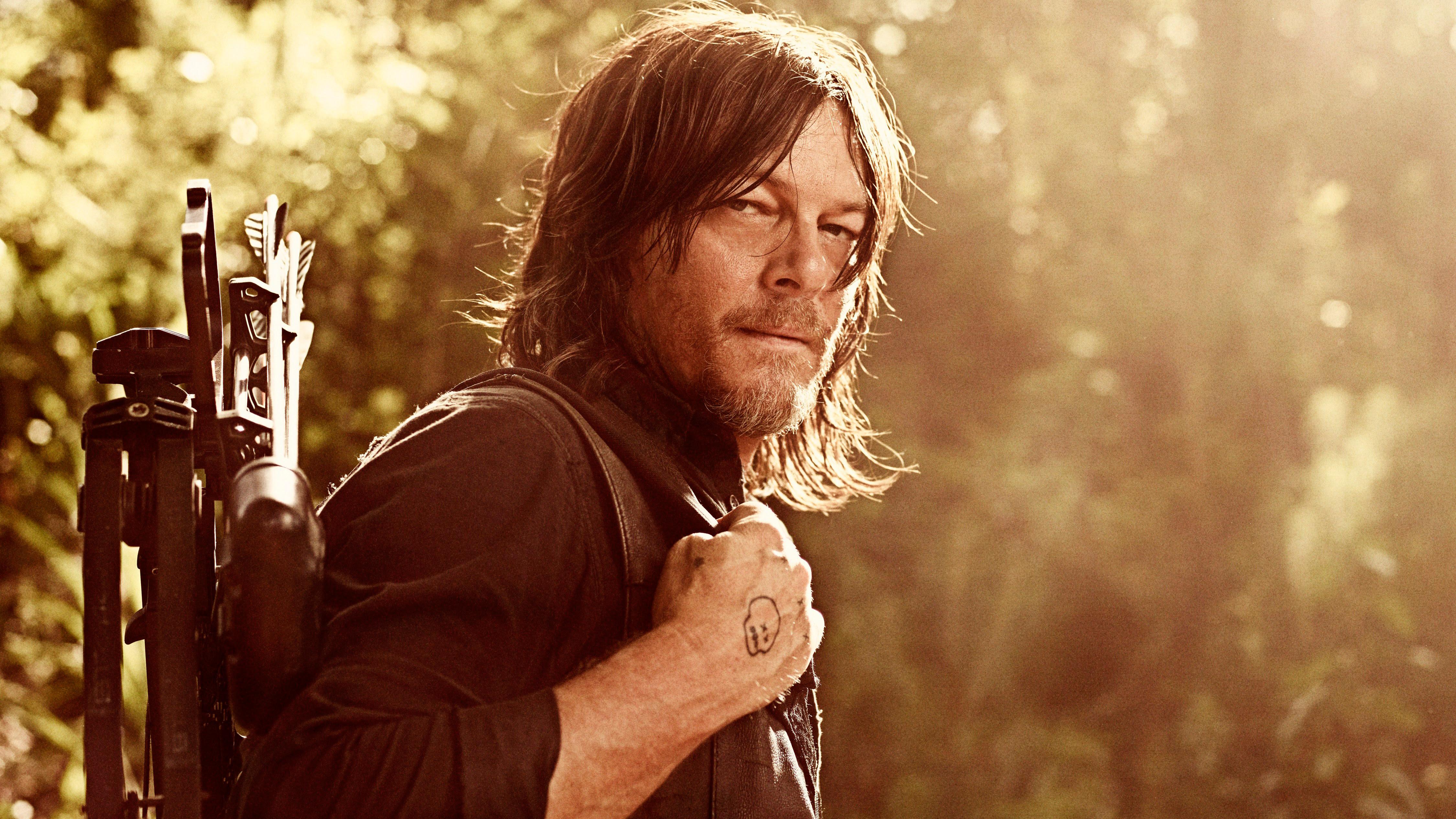 Daryl Dixon In The Walking Dead Season 9 Wallpapers Hd Wallpapers