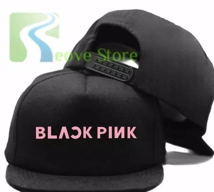 DISKON TOPI BASEBALL SNAPBACK TRUCKER blackpink plain 25696ffb20