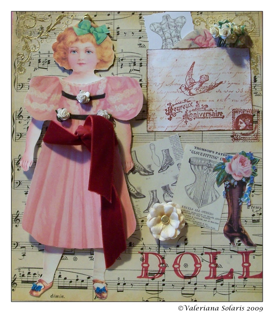 Paperdoll Collage
