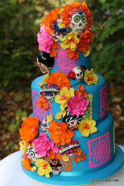 843 best Day of the Dead Wedding cakes and more images on