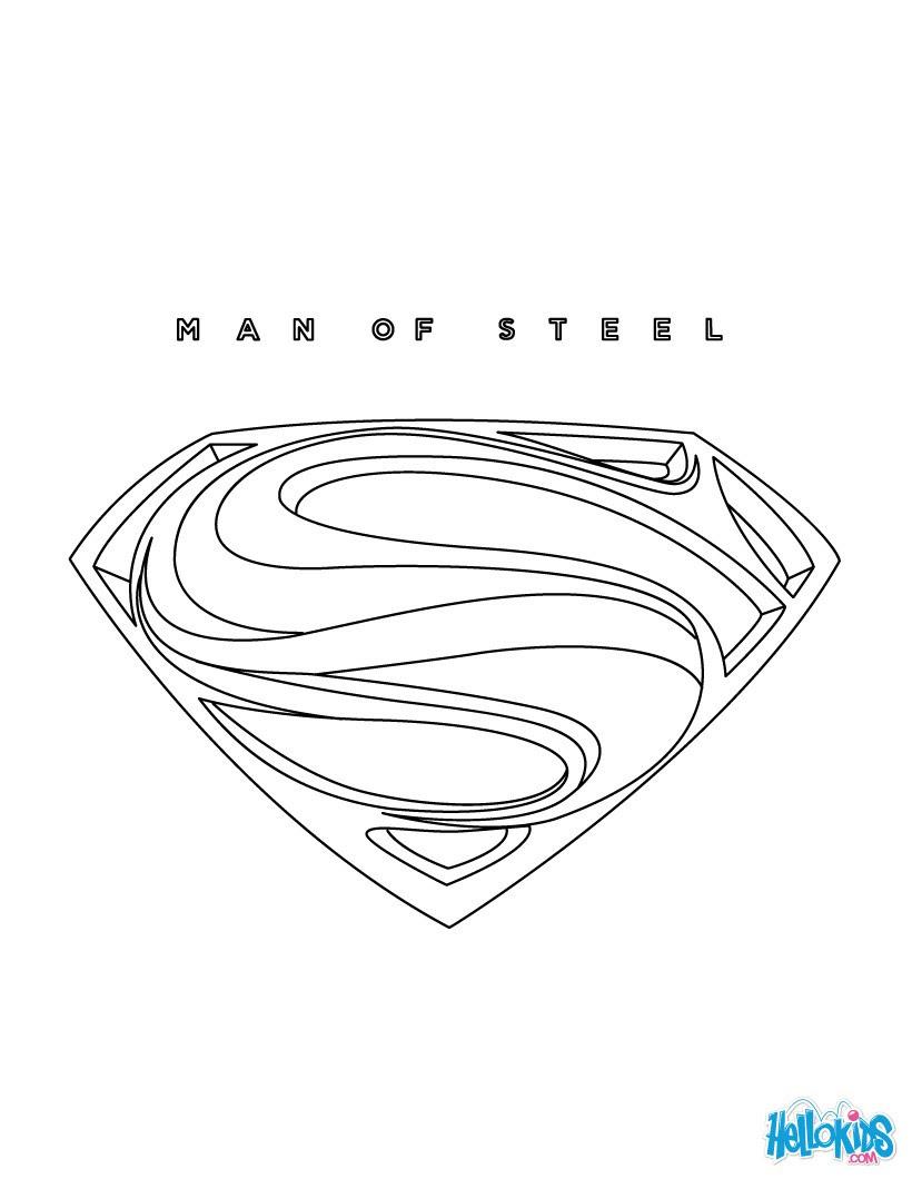 JAR EL Ausmalbild SUPERMAN online Ausmalbild