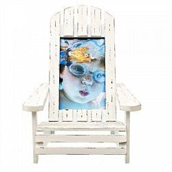 Muskoka Chair Frame White 35x55 By Concepts In Time Sale