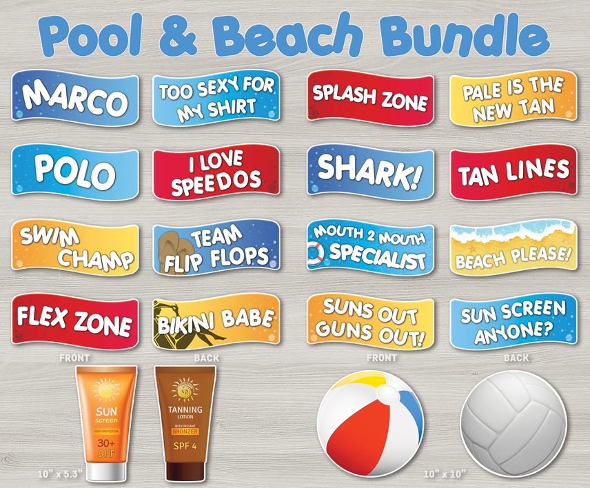 Pool Party Beach Bundle The Probooth Market