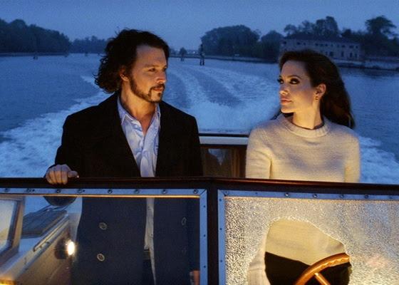 Johnny Depp e Angelina Jolie estão em O Turista, de Florian Henckel von Donnersmarck