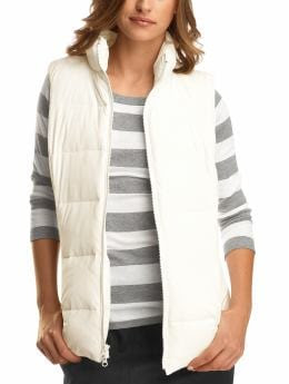 Gap Long puffer vest