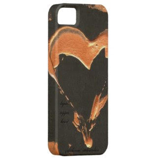 Liquid Copper Heart Iphone 5 iPhone 5 Case