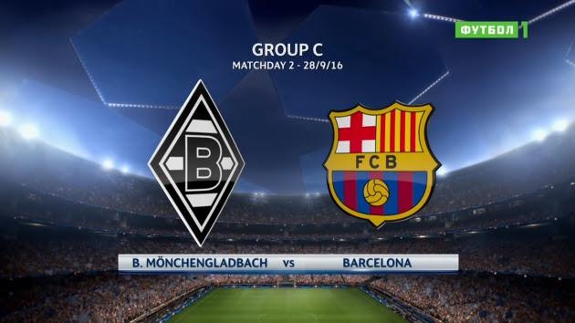 Borussia Monchengladbach vs Barcelona - Champions League