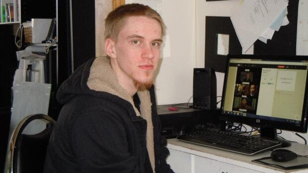 Aaron Driver, shown in 2015, was shot by police after he detonated a device that wounded himself and one other person in Strathroy, Ont.