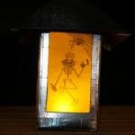 Side 3 - Lantern at night