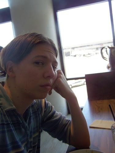 TAM 311 - Me at PHX airport bar