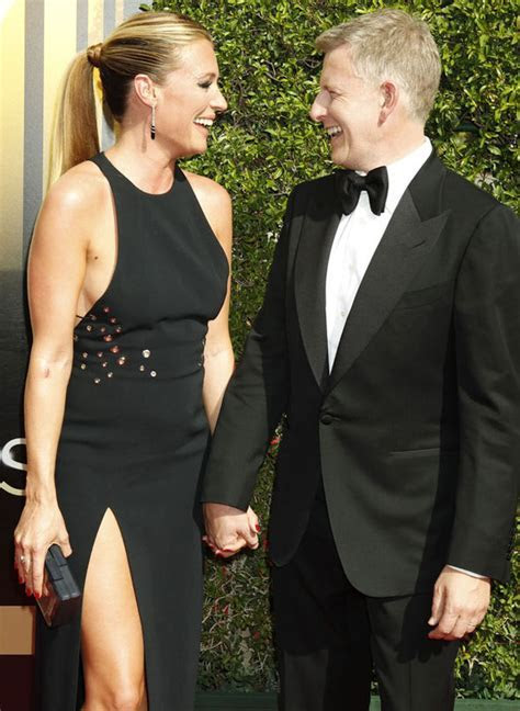 Pregnant Cat Deeley wows in thigh split gown at the Emmy