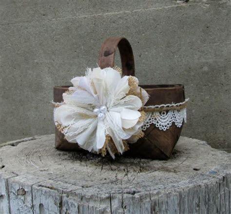 17 Best ideas about Flower Girl Basket on Pinterest