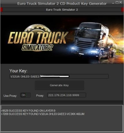 euro truck simulator 2 free key steam