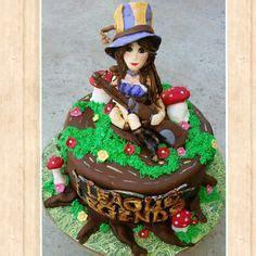 Teemo (League of Legends) Cake Topper (fondant