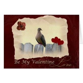 Be My Valentine Valentine's Day Card