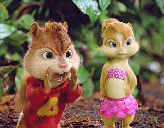 """""""Alvin e os Esquilos 3"""" (foto) liderou as bilheterias nacionais e foi o filme mais visto no último fim de semana"""