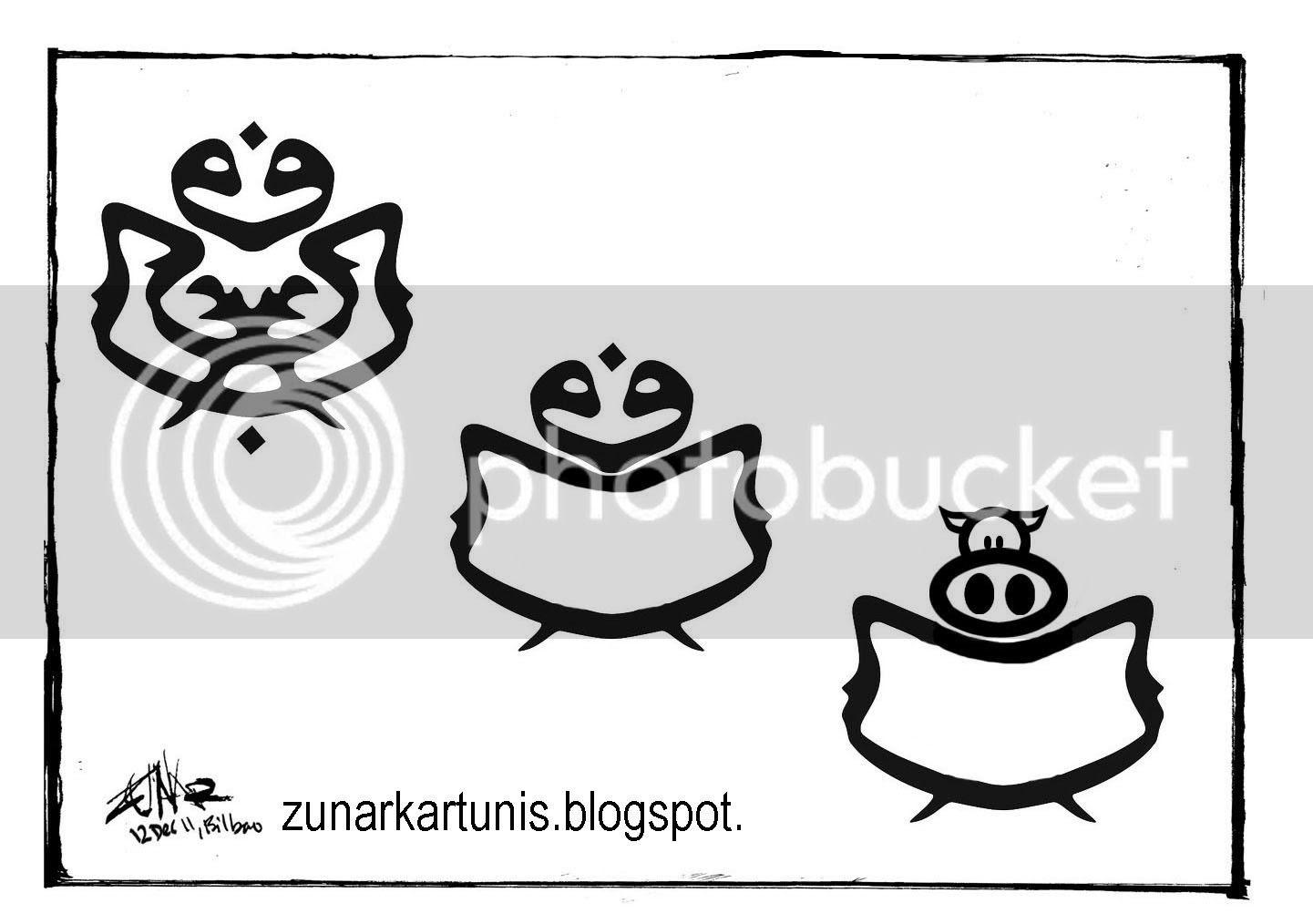 Zunar's brilliant cartoon, image hosting by Photobucket