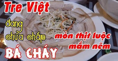 Quán Hải sản Tre Việt có món thịt luộc mắm nêm siêu ngon | Du Lịch Ăn Uống Đà Nẵng Phần 1 #04