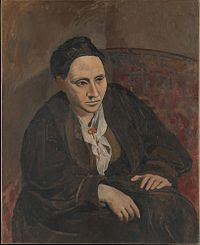 Portrait of Gertrude Stein by Picasso