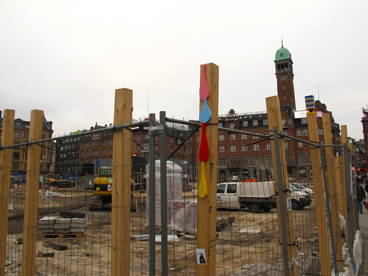 Town Hall Square mess