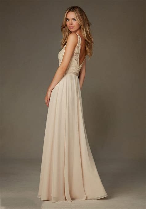 Mori Lee 122 Bridesmaid Dress   MadameBridal.com