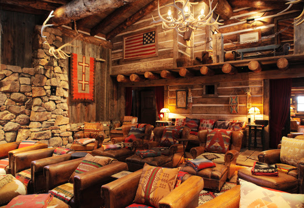 Ralph Lauren's Double RL Ranch - Southwestern Interior Design - Oprah.